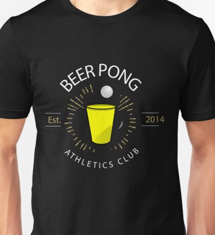 Beer Pong Athletics Club T Shirt Unisex T-Shirt