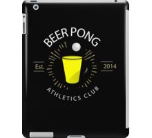 Beer Pong Athletics Club T Shirt iPad Case/Skin