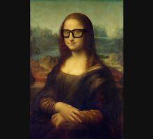 Hipster Glasses Mona Lisa - Leonardo da Vinci Unisex T-Shirt