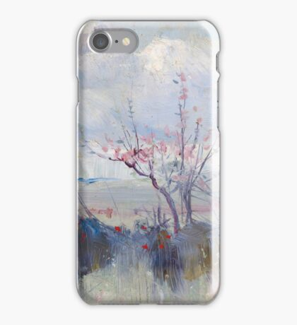 Charles Conder  - Herrick s Blossoms , Rustic  Australian  Provance  iPhone Case/Skin