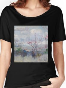 Charles Conder  - Herrick s Blossoms , Rustic  Australian  Provance  Women's Relaxed Fit T-Shirt