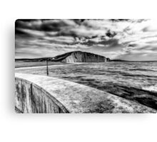West Bay to Burton Bradstock Canvas Print