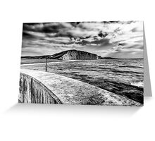 West Bay to Burton Bradstock Greeting Card