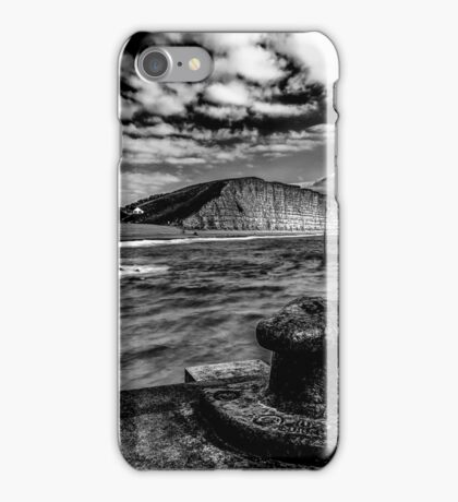 Harbour Wall at West Bay iPhone Case/Skin
