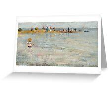 Charles Conder  - Ricketts Point, Beaumaris 1890 Seascape Marine Greeting Card