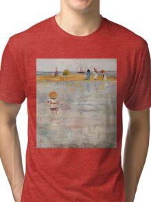 Charles Conder  - Ricketts Point, Beaumaris 1890 Seascape Marine Tri-blend T-Shirt