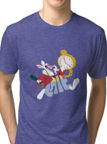 White rabbit Tri-blend T-Shirt