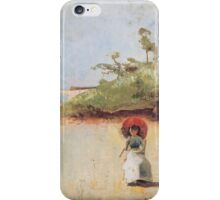 Charles Conder  - All on a summer s day 1888 Rustic  Australian  Provance  iPhone Case/Skin