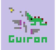Guiron Pixel Photographic Print