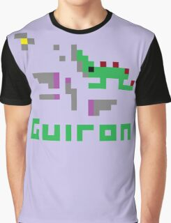 Guiron Pixel Graphic T-Shirt