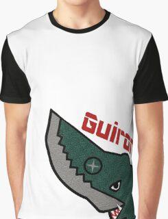 Guiron - White Graphic T-Shirt