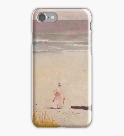Charles Conder  - Bronte Beach 1888 Seascape Marine  Australian iPhone Case/Skin