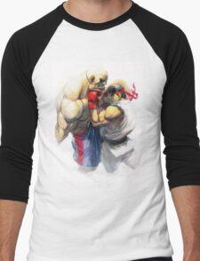 Ryu vs Sagat Men's Baseball ¾ T-Shirt