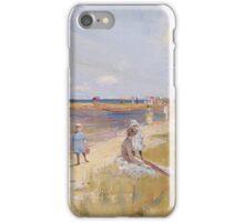 Charles Conder  - Rickett s Point 1890 Rustic  Australian  Provance  iPhone Case/Skin