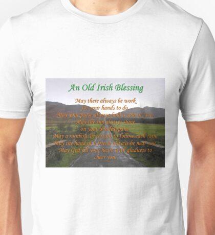 Old Irish Blessing #3 Unisex T-Shirt