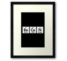 Bacon Element  Framed Print