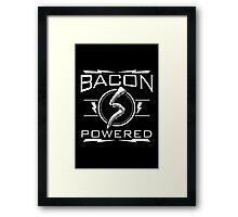 Bacon Powered Framed Print