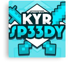 KYR SP33DY Logo Classic Canvas Print