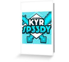 KYR SP33DY Logo Classic Greeting Card