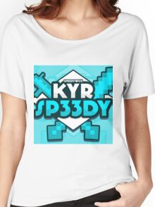 KYR SP33DY Logo Classic Women's Relaxed Fit T-Shirt