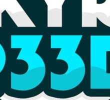 KYR SP33DY Logo Classic Sticker