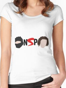 NINJA SEX PARTY NSP LOGO Women's Fitted Scoop T-Shirt