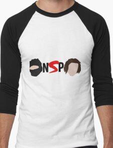 NINJA SEX PARTY NSP LOGO Men's Baseball ¾ T-Shirt