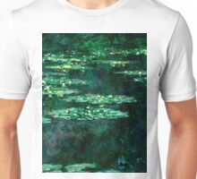 1904-Claude Monet-Waterlilies-89x92 Unisex T-Shirt