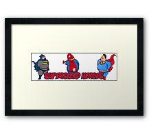 Super Hero - Supersize Framed Print