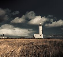 Lighthouse at Hurst Castle by Marcus Walters