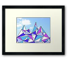 Happy Hills Framed Print