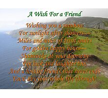 Wish For A Friend Photographic Print
