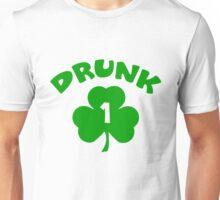 Drunk 1 shamrock Unisex T-Shirt
