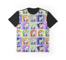 Love Live fsjal Graphic T-Shirt