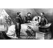 Death of Stonewall Jackson - 1872 Photographic Print