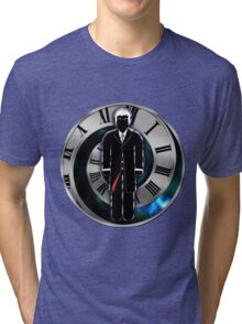 Doctor Who - 12th Doctor - Peter Capaldi Tri-blend T-Shirt
