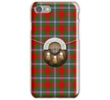 Caledonian Tartan And Sporran iPhone Case/Skin