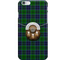 Clan Austin Tartan And Sporran iPhone Case/Skin