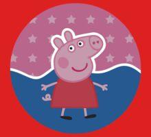 Peppa Pig Stamp One Piece - Long Sleeve