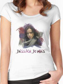 Jessica Jones - Brush Women's Fitted Scoop T-Shirt