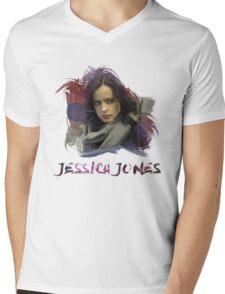 Jessica Jones - Brush Mens V-Neck T-Shirt