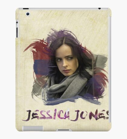 Jessica Jones - Brush iPad Case/Skin