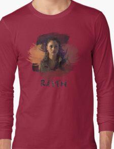 Raven - The 100 -  Brush Long Sleeve T-Shirt