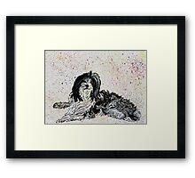Tilly Framed Print