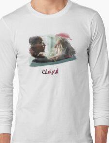 Clexa - The 100 - brush Long Sleeve T-Shirt