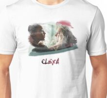 Clexa - The 100 - brush Unisex T-Shirt