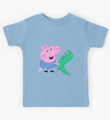 George and Dinasuar Kids Tee