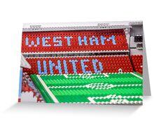 West Ham Greeting Card