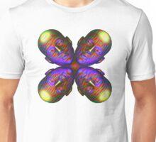 #DeepDream Masks - Heads - Butterfly 5x5K v1455803831 Unisex T-Shirt