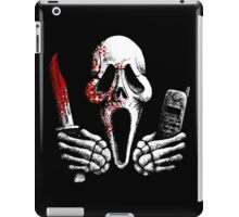Skulls, Bones, Knives and Phones iPad Case/Skin